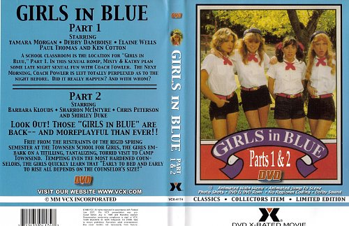 Girls in blue 1 & 2